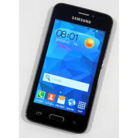 "Китайский самсунг копия Samsung Galaxy S5 (2sim) экран4.0"" 2 ядра Android 4  бюджетный телефон недорого дешево"