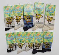 Детские носочки с Губкой Бобом. Размер 35-38 (11-13 лет)