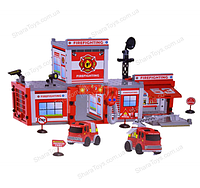 """Игровой набор с машинками """"Пожарная станция"""""""