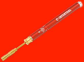 Мини газовая горелка для пайки Intertool GB-0001