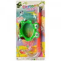 Детская подводная маска и трубка для плавания (ныряния) Profi (CF30)