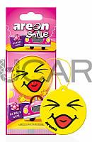 Areon Smile Bubble Gum ароматизатор картонный