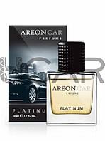 Areon Perfume Platinum ароматизатор стекло пневмо, 50 мл