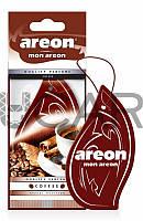 Areon Mon Coffee ароматизатор картонный