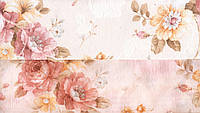 Шторы, хлопок, Мелкая роза 1369-05. Компаньоны штора и гардина