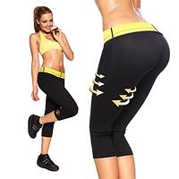 Бриджи с эффектом сауна для похудения Hot Shapers, шорты для фитнеса и спортзала хот шейперс