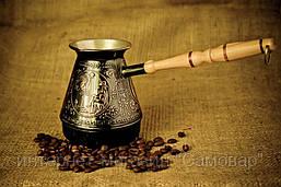 Медная джезва 500 мл для кофе на подарок