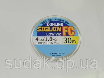 Флюорокарбон Sunline SIG-FC 0,160мм 1,8кг 30м