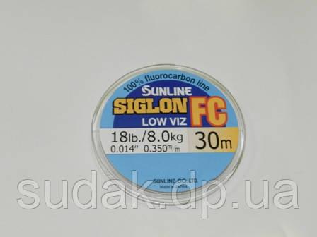 Флюорокарбон Sunline SIG-FC 0,350мм 8,0кг 30м