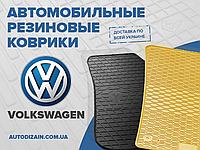 Резиновые коврики в салон VOLKSWAGEN POLO SEDAN 09- (Фольксваген Поло Седан) (design 2016)
