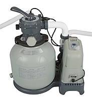 Песочный насос-хлоргенератор INTEX 28680, хлоргенератор 220V-240V для дезинфекции воды, хлоргенератор intex