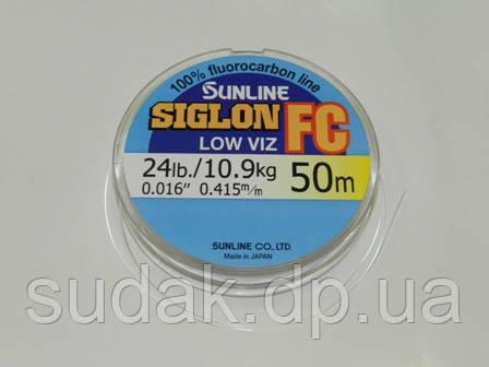 Флюорокарбон Sunline SIG-FC 0,415мм 10,9кг 50м