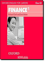 Oxford English for Careers | Class CD:Finance. Аудио-диск, уровень 1 | Richard Clark | OXFORD