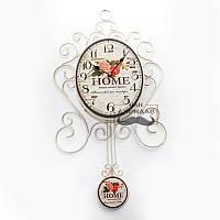 Часы настенные с маятником Home sweet home