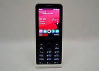 Мобильный телефон Nokia 206 с GPRS, телефон на 2 sim карты, кнопочный телефон нокиа, nokia 206 dual sim