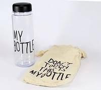 Бутылка с чехлом My bottle 360 CUP, пластиковая бутылка для напитков, бутылочка My Bottle