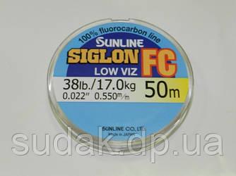 Флюорокарбон Sunline SIG-FC 0,550мм 17,0кг 50м