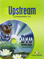 Upstream | DVD Activity Book. Тетрадь к видео, уровень A2 Elementary | Virginia Evans | Exspress Publishing