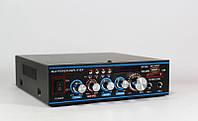 Усилитель звука AMP 309, звуковой усилитель + караоке на 2 микрофона