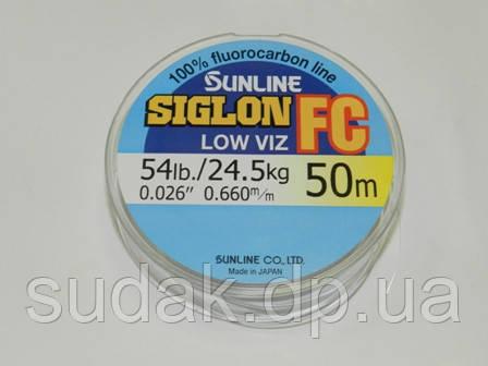 Флюорокарбон Sunline SIG-FC 0,660мм 24,5кг 50м