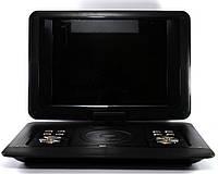 """Портативный DVD проигрыватель 1889, DVD-плеер с поворотным экраном диагональю 13.7"""" , фото 1"""