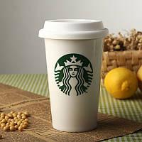 Керамическая чашка StarBucks CUP HY101, стакан с крышкой starbucks, кружка стакан старбакс