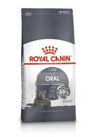 Royal Canin ORAL CARE сухой корм для кошек для профилактики образования зубного налета и зубного камня 1.5 кг