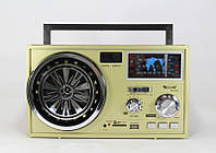 Радиоприемник колонка MP3 USB RX 1052, радиоприемник с аккумулятором, FM приемник с MP3 проигрывателем