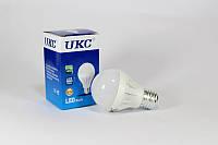 Лампочка светодиодная LED LAMP E27 5W UKC круглая, энергосберегающая лампочка