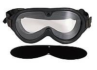 Маска защитная с поликарбонатной баллистической линзой Rothco G.I. Type Sun, Wind & Dust Goggles
