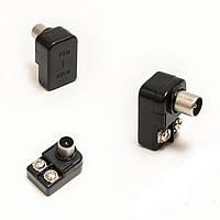 Антенный штекер PPQ (10000), штекер антенный для телевизора, автомобильный антенный штекер