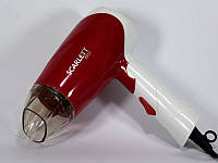Фен для волос Scarlett SC 8804, фен для сушки волос 1000 Вт, компактный фен