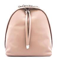 Рюкзак  женский городской кожаный  Valiente RU-VS07576 пудровый