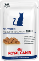 Royal Canin NEUTERED WEIGHT BALANCE консервы для кастрированных котов и стерилизованных кошек 100 гр