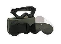 Серые противоосколочные баллистические линзы для тактической маски 10351 G.I. Grey Ballistic Lenses