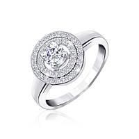 Серебряное кольцо-комплект КК2Ф/432