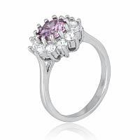 Серебряное кольцо-комплект КК2ФА/379