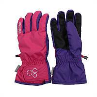 Зимние детские  перчатки RIXTON  от 5 до 12 лет ТМ HUPPA 82620100-70163