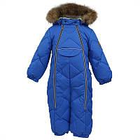 Зимний пуховый комбинезон р. 68-80 BEATA 1 для мальчика 6, 9, 12 месяцев ТМ HUPPA 31930155-70063