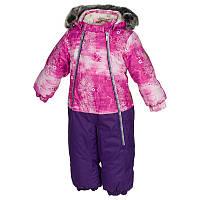 Зимний термокомбинезон DEVON 1 для девочки 2-4 лет, р. 92, 98, 104 ТМ HUPPA 36160130-71363