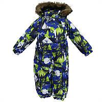 Зимний термокомбинезон KEIRA для мальчика 6 мес.  р. 68 ТМ HUPPA 31920030-72535