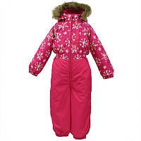 Зимний термокомбинезон для девочки 8 лет р. 28 WILLY ТМ HUPPA малиновый 31900030-71663