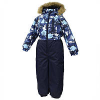 Зимний термокомбинезон WILLY для мальчика 7-8 лет р. 122-128 ТМ HUPPA 31900030-72586