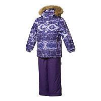 Зимний термокостюм 4-5 лет р. 104-110 DANTE 1 ТМ HUPPA фиолетовый 41930130-73373