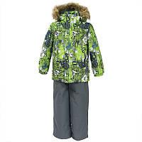 Зимний термокостюм для мальчика 3, 6, 7 лет рост 98, 116, 122 DANTE 1 ТМ HUPPA 41930130-72247