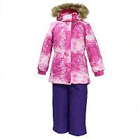 Зимний термокостюм RENELY для девочки 2-4 лет р. 92-104 ТМ HUPPA 41850030-71363
