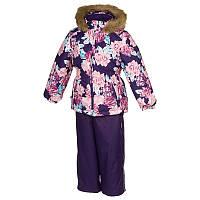 Зимний термокостюм WONDER для девочки 3 лет р. 98 ТМ HUPPA 41950030-71573