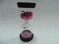 Песочные часы на 3 минуты размер 9.7*4.5*4.5 см