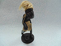 Статуэтка деревянная Футболист размер 17*9*8 см