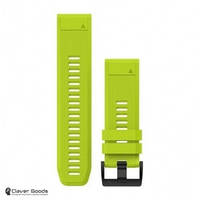 Ремешок Garmin Ремешок для Fenix 5x 26mm QuickFit Amp Yellow Silicone Band (010-12517-01)